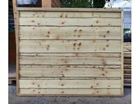 HEAVY DUTY WANEYLAP TANALISED PRESSURE TREATED GARDEN FENCE PANELS FROM £17 EACH OPEN 7 DAYS A WEEK