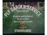 Plf garden maintenance