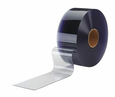 Polar Clear Pvc Strip 12 In Wide X 0.120 In Thick X 150 Ft. Long Roll