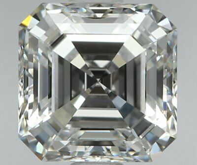 Excellent Cut Perfect Measurements - Flawless - 0.58 Ct Asscher Cut Diamond-GIA