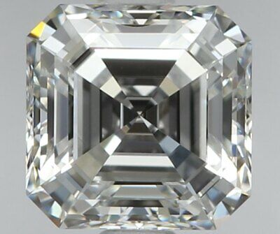 .40 Carat Asscher Cut Non - Treated Natural Diamonds For Sale at Wholesale Price