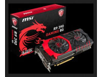 Graphics card Video card. MSI R9 390 8GB £160 Perfect Condition.