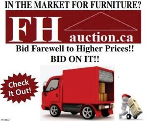 BID ON IT!!!  Stop paying Retail!  Quality new furniture at Auction Prices