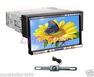 1-Din-7-In-dash-Audio-Car-Stereo-CD-DVD-Player-Monitor-TV-Ipod-BT-Radio-CAMERA