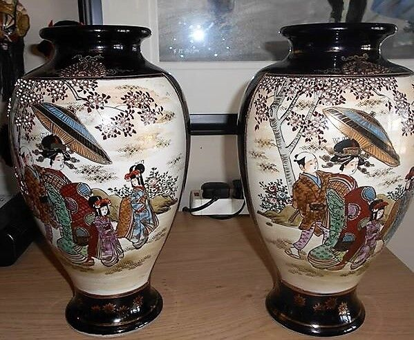 A Pair Of Japanese Vases In Ayr South Ayrshire Gumtree