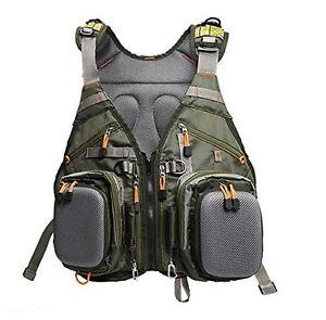 Fishing Backpack Adjustable Size Mesh Fishing Vest Pack Fashion Style