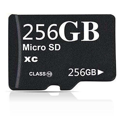 Micro SD SDXC Card 256GB High Speed Class 10 Memory SD with Adapter Phone Tablet