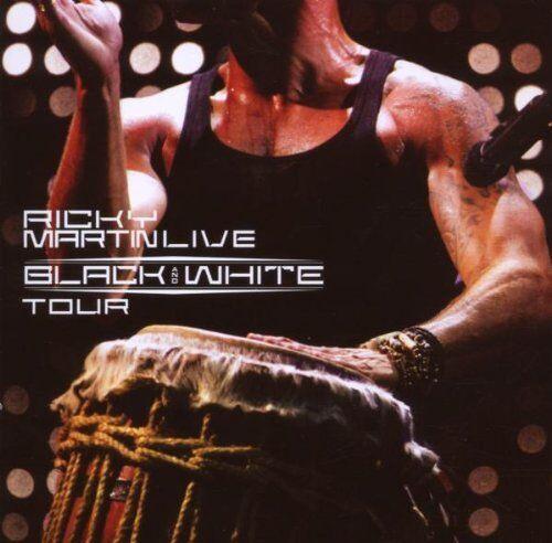 RICKY MARTIN - BLACK AND WHITE TOUR: LIVE CD ALBUM (2007)