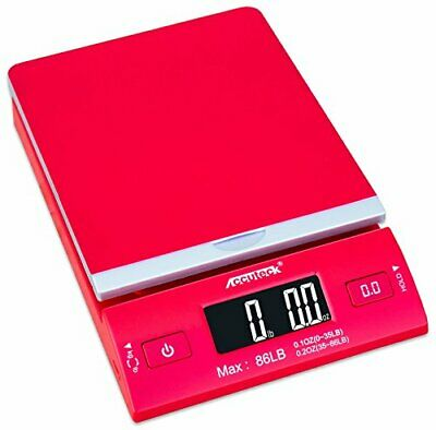 Accuteck Dreamred 86 Lbs Digital Postal Scale Shipping Scale Postage With Usbac
