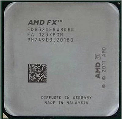 Brand New AMD FX-8320 Black Edition 3.5GHz Eight Core FD8320FRW8KHK OEM Ver.
