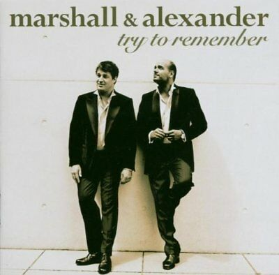 CD  Try to Remember Marshall & Alexander    (K102)
