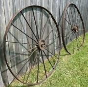 Vintage Wagon Wheels