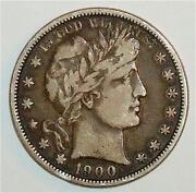 1900 Half Dollar