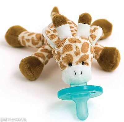 New   Wubbanub Giraffe Infant Baby Soothie Pacifier Binky   Free Shipping