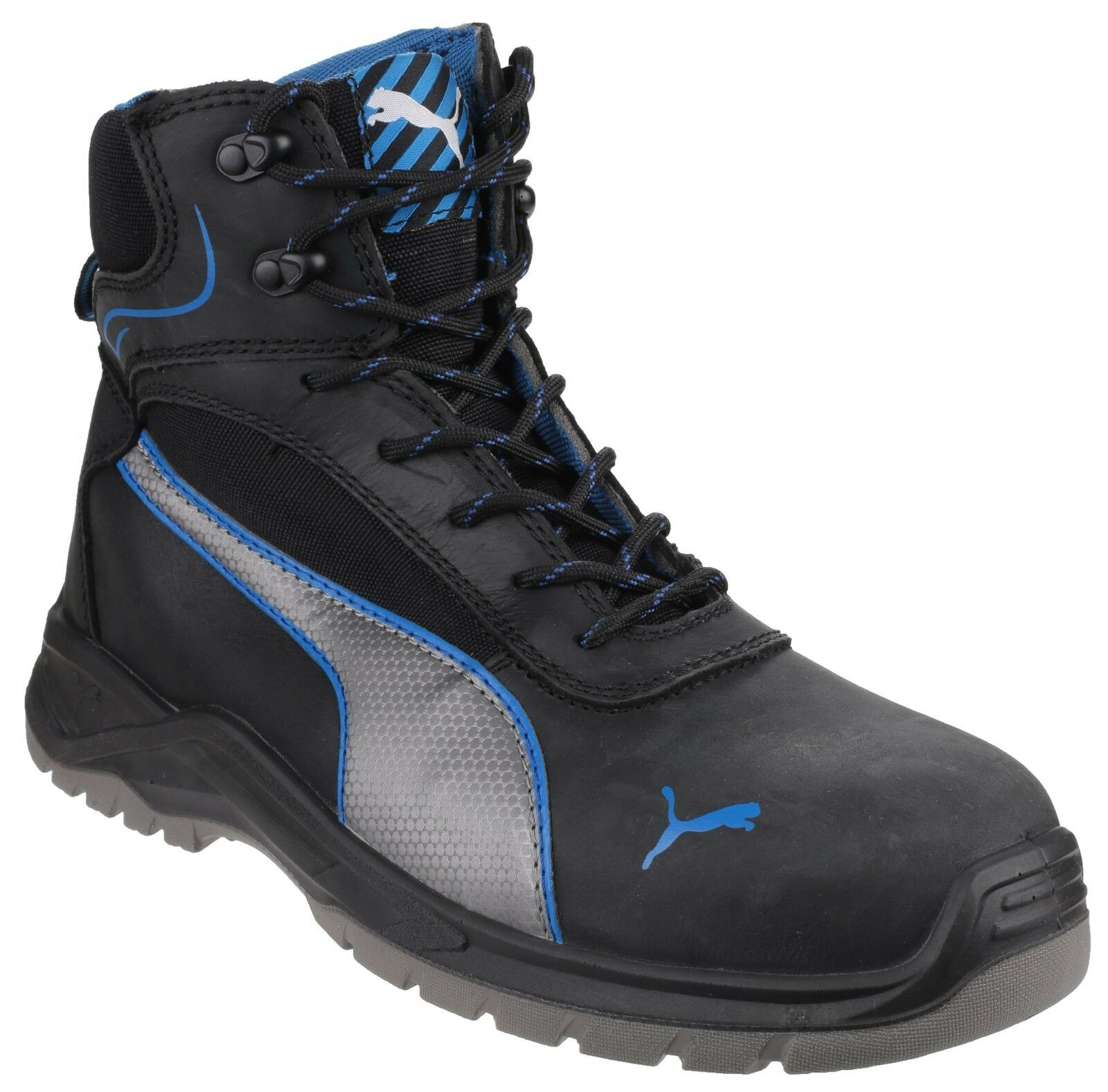 Puma Safety da uomo Nero Athletic sicurezza Boot VARIE MISURE ATOMIC met 633600