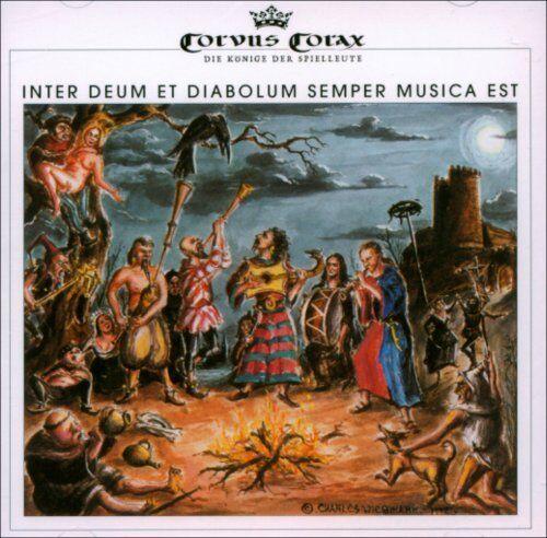 CORVUS CORAX Inter Deum et Diabolum Semper Musica Est CD 1993