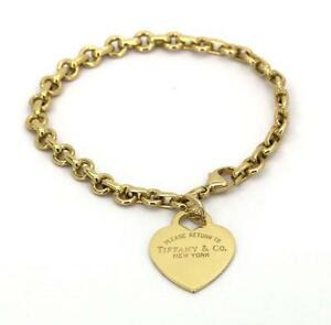 Tiffany Gold Charm Bracelet
