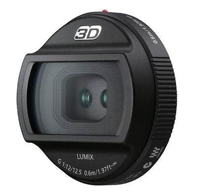 Panasonic 3D LUMIX G 12.5mm/F12 Lens for DMC-GH2 H-FT012