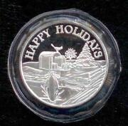 Christmas Silver Rounds