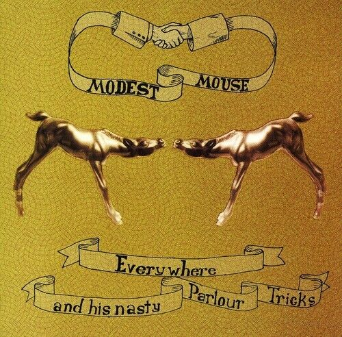 Modest Mouse - Everywhere & His Nasty Parlour Tricks [New CD]
