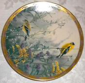 Danbury Mint Bird Plates