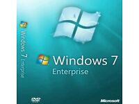 Microsoft Windows 7 Enterprise, Home Premium, Professional or Ultimate with SP1 & Free Delivery