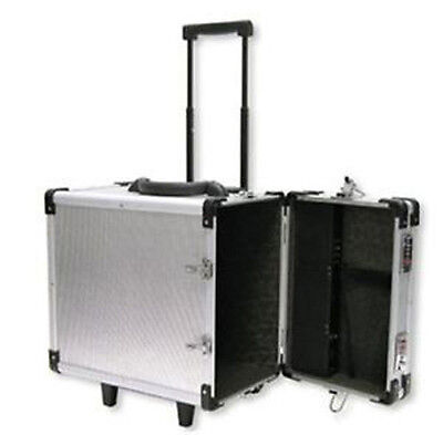 Aluminum Trade Show Travel Organizer Jewelry Display Tray Case Storage