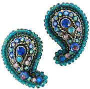Chicos Blue Earrings