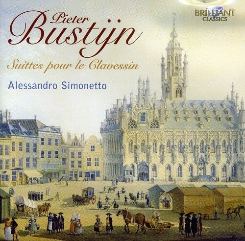 Alessandro Simonetto - Complete Suites for Harpsichord [New CD]