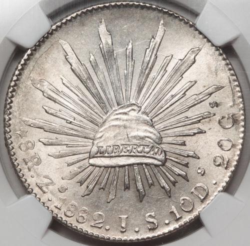 1882 8 Reales Mexico Ebay