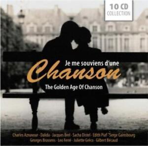 Je Me Souviens D'Une Chanson - The Golden Age Of Chanson - 10 CD NEU OVP