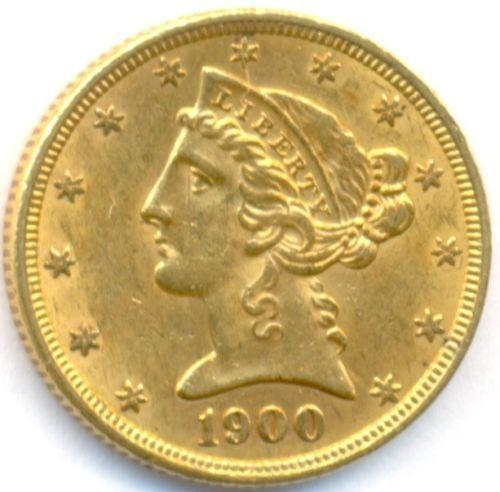 Us Gold Coins 5 Dollar Ebay