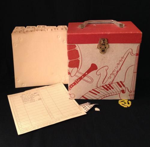 Vintage 45 Record Box Ebay