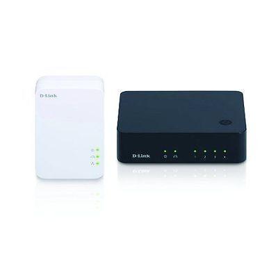 D-Link Systems DHP-541 PowerLine AV 500 4-Port Gigabit Switch Kit - FREE SHIP™