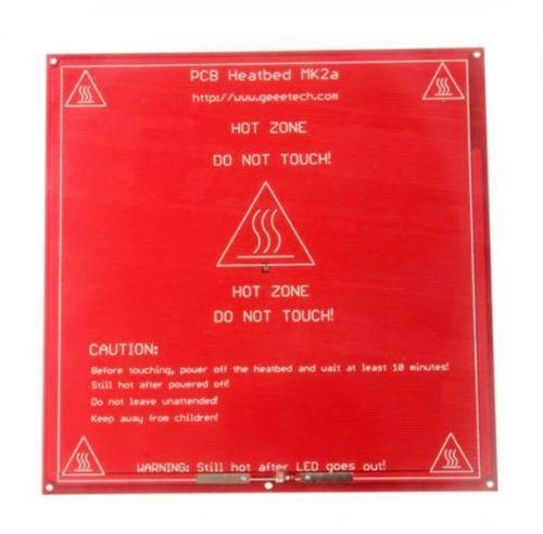Nice 3d Printer Parts Mk3 Heatbed Dual Power Heated+led+resistor+cable+100k Ohm Thermistors Pcb Heat Bed 3d Printers & 3d Scanners