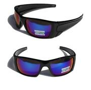 Mens Black Mirror Sunglasses