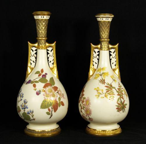 Royal Worcester Vase Ebay