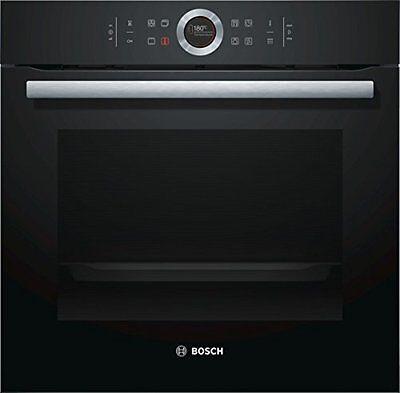 Bosch HBG675BB1 Vulkan Schwarz Backofen Einbaubackofen 71 L TFT Display EEK A+