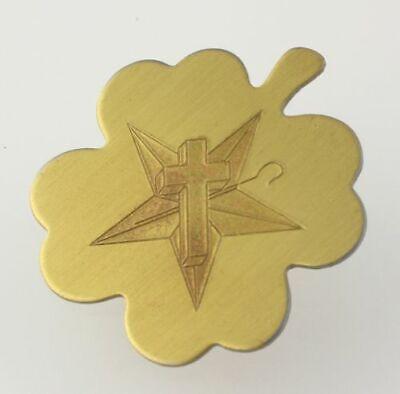 Nuevo Blanco Santuario De Jerusalén - Trébol Bolo Alfiler Corbata Estrella Cruz