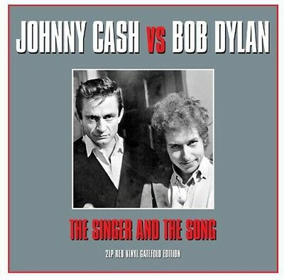 Johnny Cash   Bob Dylan   Singer   The Song  New Vinyl  Uk   Import