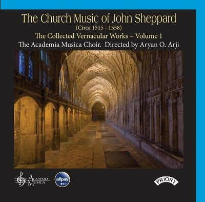 The Church Music of John Sheppard / The Collected Vernacular Works : CD:  sealed