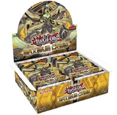Yugioh Maximum Crisis Booster Box Factory Sealed 1st Edition Card Game English