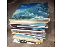 Over 100 x Classical & Show L.P. Records Includes: Mozart Chopin Beethoven Brahms, Etc