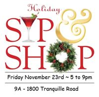 Holiday Sip & Shop~ Kamloops