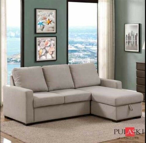 Costco Newton Fabric Corner Sofa Bed With Storage Only 395