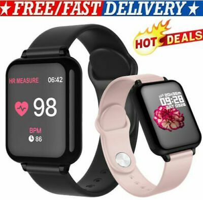 BEST B57C Smart Watch Women Man Watch Blood Presure Heart Rate Smartphone US (Best Rated Fitness Tracker)