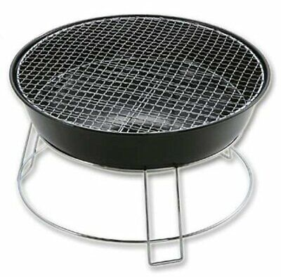 Captain Stag M-6497 Union Round Barbecue Stove Grill Camping Outdoor Gear NEW