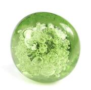 Green Glass Drawer Pulls
