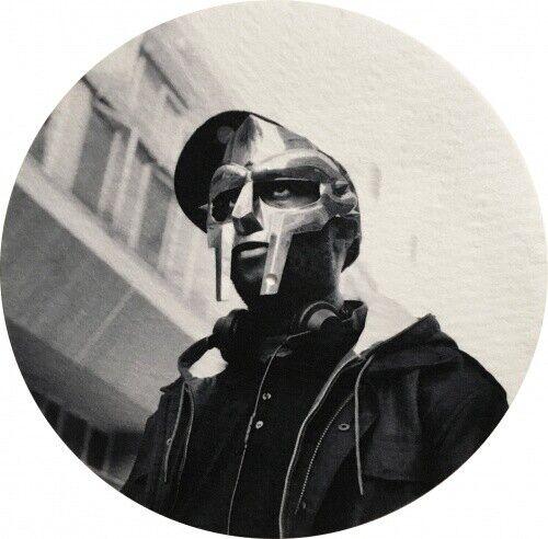 MF DOOM Black & White Portrait NEW SINGLE SLIPMAT