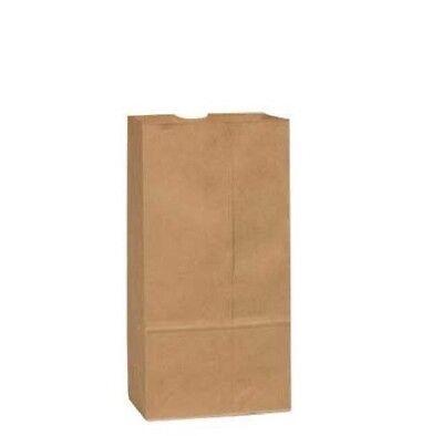 12 lb. Duro Brown Kraft Grocery Paper Bags 40# BW ~ 1000 per Case